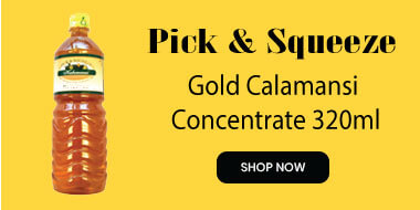 Pick and Squeeze Gold Calamansi Concentrate 320ml