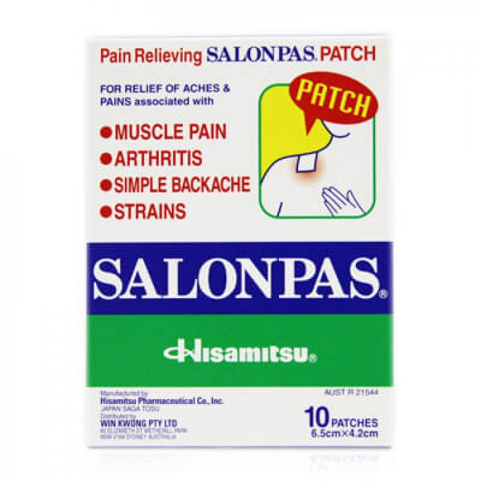 Salonpas 10 patches