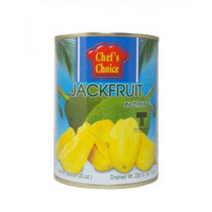 Yellow Jackfruit in Syrup 565g. (Chef's Choice)