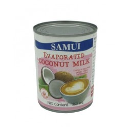 Evaporated Coconut Milk 360ml. (Samui)