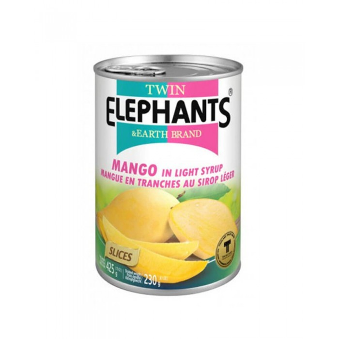Mango Slices in Syrup 425g. (Twin Elephant)