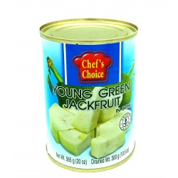 Young Green Jackfruit in Brine 565g. (Chef's Choic...
