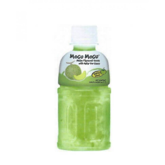 Mogu Mogu Melon w/ Nata De Coco Drinks 320mls