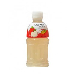 Mogu Mogu Apple w/ Nata De Coco Drinks 320mls