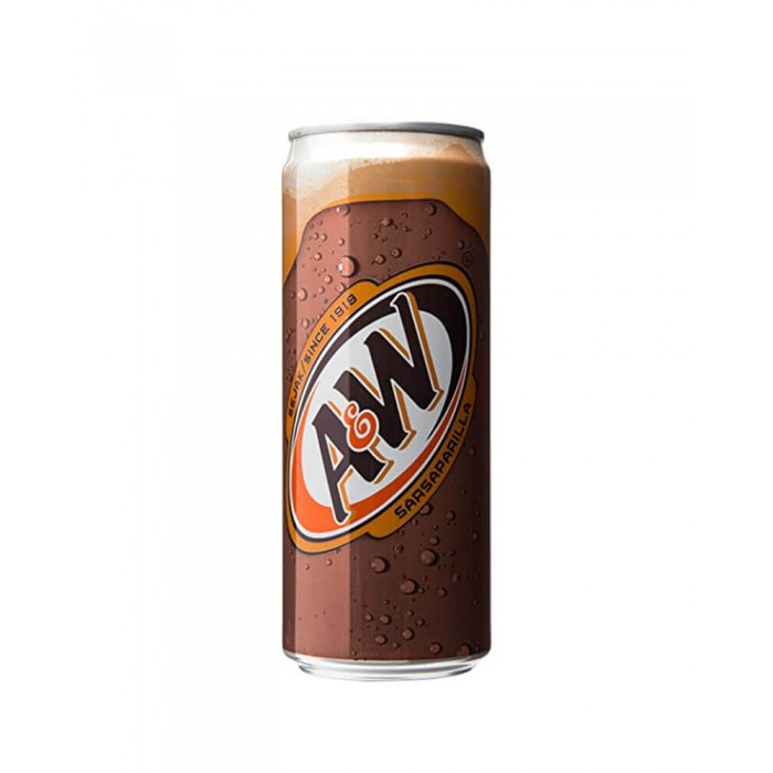 A & W Rootbeer (Malaysian) 320ml.