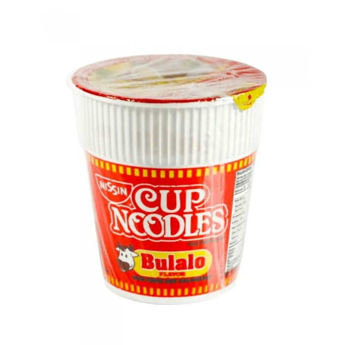 Cup Noodle Bulalo 60g. (Nissin)
