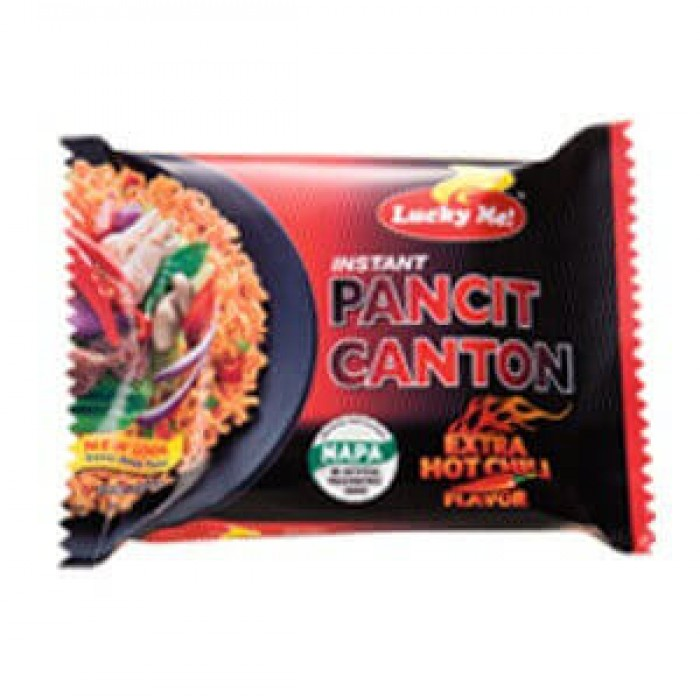 Lucky Me Instant pancit canton ( HOT )