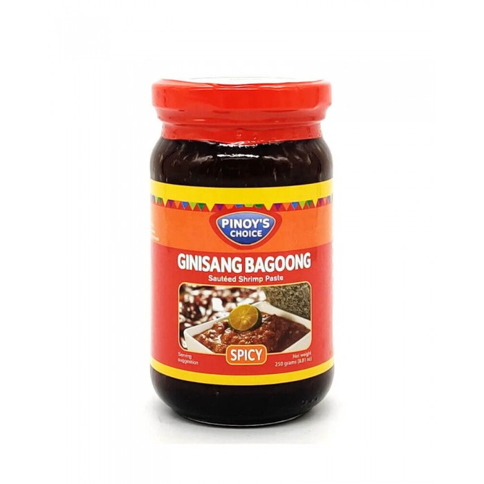 Ginisang Bagoong (Spicy) Sauteed Shrimp Paste 250g. (Pinoy's Choice)