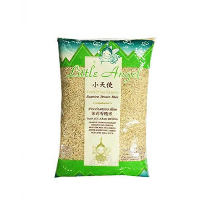 Brown Jasmine Rice 1kg.  (Little Angel)
