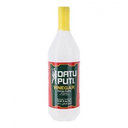 Datu Puti White Vinegar 1L.