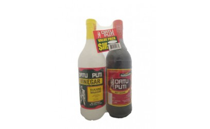 Vinegar and Soy Sauce (Value pack) 1 liter each (Datu Puti)