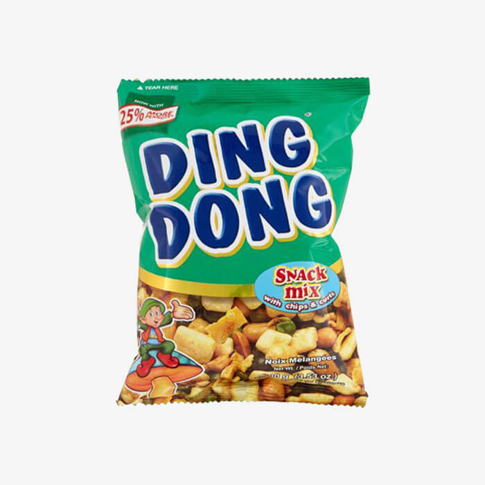 Ding Dong Snack Mix with Chips and Curl 100g