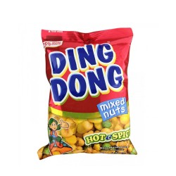 Ding Dong Mixed Nuts Hot & Spicy Flavour 100g.