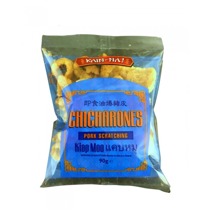 Chicharones (Pork Scratchings) 90g. (Kain-Na)