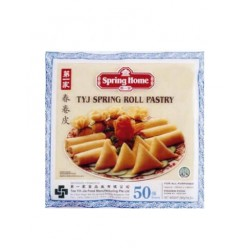 "Lumpia Wrapper Spring Roll (Small-Aprox. 5"") 50 Sheets (Spring Home)"