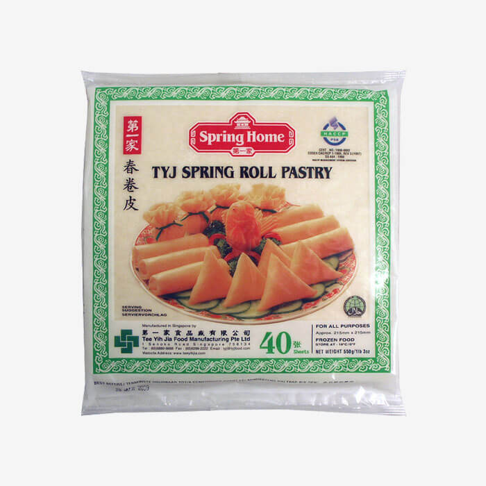 """Lumpia Wrapper Spring Roll (Medium-Aprox. 8.5"""") 40 Sheets (Spring Home)"""