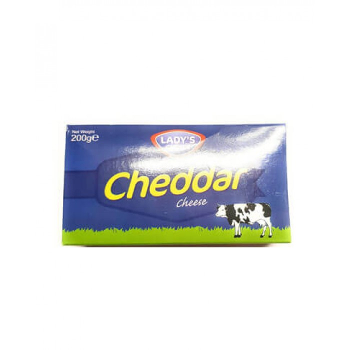 Cheddar Cheese 200g. (Lady's Choice)