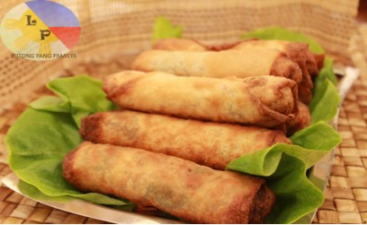 Vegetable spring rolls – Lumpiang gulay